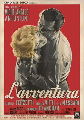L'Avventura - Poster - Italie