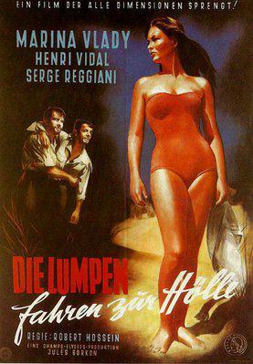 Les Salauds vont en enfer - Poster Allemagne