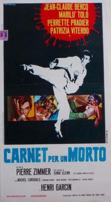 Le Judoka, agent secret - Poster Italie