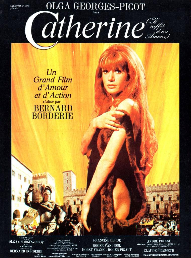 Image result for catherine: il suffit d'un amour poster
