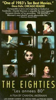 Les Années 80 - Jaquette VHS Etats-Unis