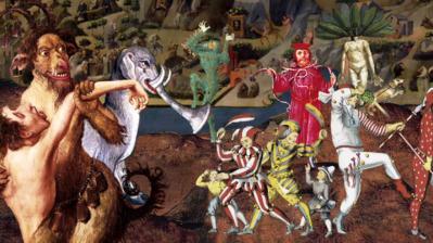 La Tentation de saint Antoine, 1501, Jérôme Bosch - © Les Poissons Volants