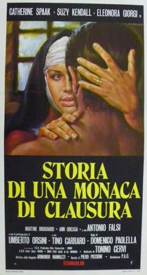 Historia de una monja de clausura  - Poster Italie