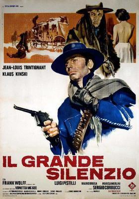 El Gran silencio - Poster - Italie