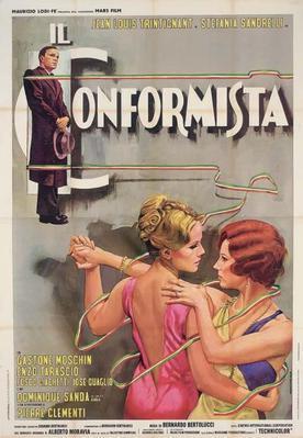 Le Conformiste - Poster - Italie