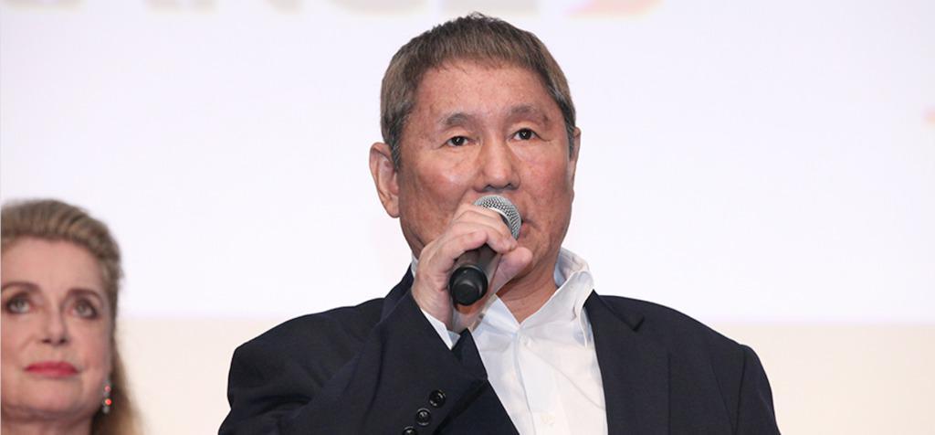 Takeshi Kitano, parrain japonais du Festival - © Rumi Shirahata