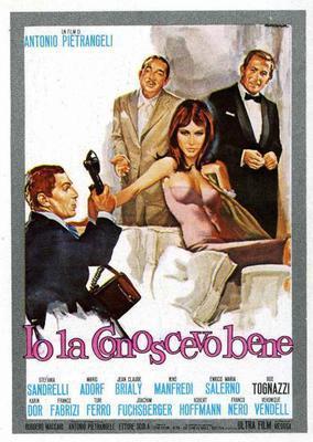 Je la connaissais bien... - Poster - Italy