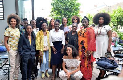 Portfolio Festival de Cannes 2018 - Aïssa Maïga et les co-signataires de l'ouvrage 'Noire n'est pas mon métier' - © Veeren/BestImage/UniFrance