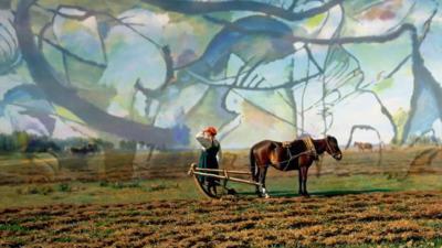 Colorful Life, 1907, Vassily Kandinsky