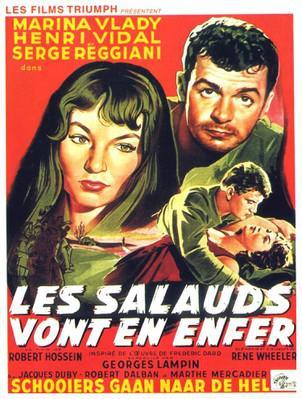 Les Salauds vont en enfer - Poster Belgique