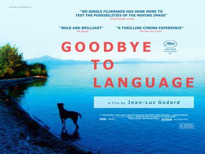 Adieu au langage - Poster - Royaume-Uni