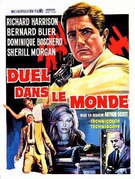 Duel dans le monde - Poster Belgique
