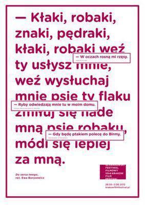 Festival Internacional de Cortometrajes y  Documentales de Cracovia - 2013
