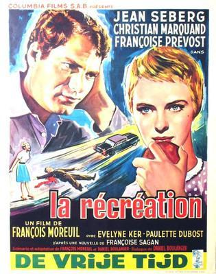 La Récréation - Poster Belgique