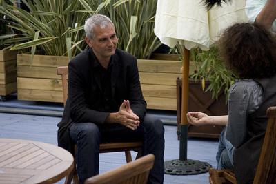 クラブユニフランス・続報 - Laurent Cantet en interview - © Laurent Koffel @ Visual