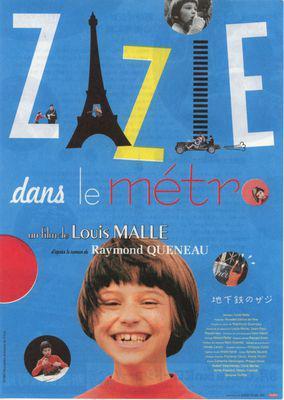 Zazie / Zazie in the Metro - Poster - Japon