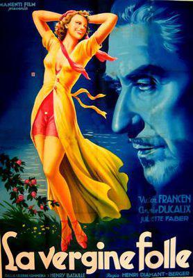 La Vierge folle - Poster Italie