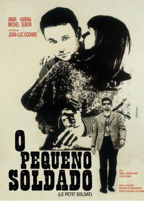 Le Petit Soldat - Poster Brésil