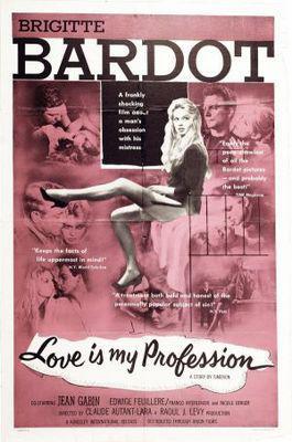 El Amor es mi oficio - Poster Etats-Unis