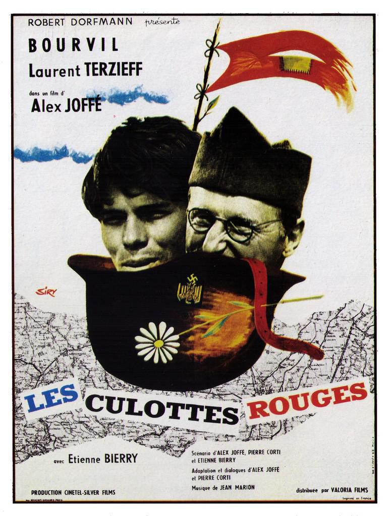 The Red Culottes - Poster France