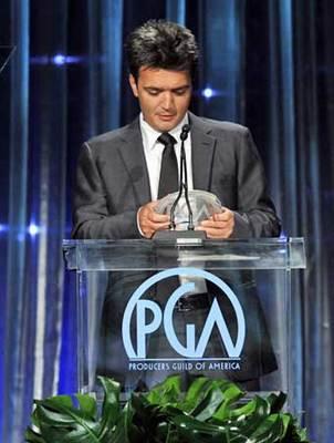 Hazanavicius et Dujardin, réalisateur et acteur de l'année aux USA - Darryl F. Zanuck Award