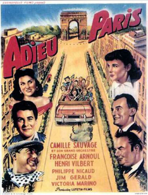 Adieu Paris - Poster - Belgium