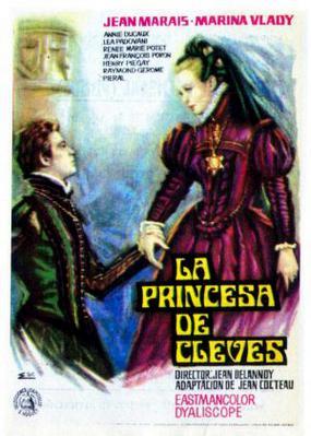 La Princesse de Clèves - Affiche Espagne