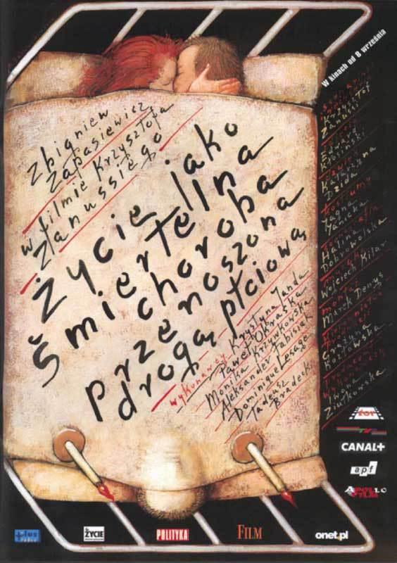 La Vie est une maladie sexuellement transmissible - Affiche Pologne