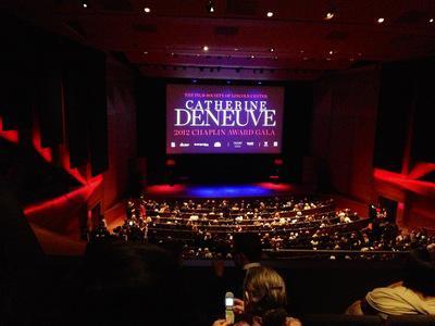 Catherine Deneuve recibio el Chaplin Award - © Filmlinc.com