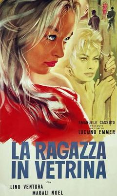 Una muchacha en el escaparate - Poster - Italy