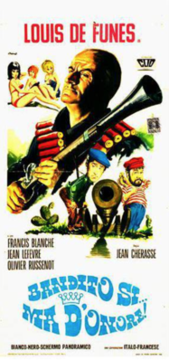 La Vendetta (Bandits d'honneur) - Poster Italie