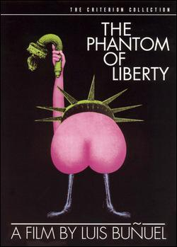 The Phantom of Liberty - Jaquette DVD Etats-Unis