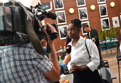 Vademécum del Festival de Cannes 2018 - Aïssa Maïga, pour le lancement officiel de son livre 'Noire n'est pas mon métier' - © Veeren/BestImage/UniFrance