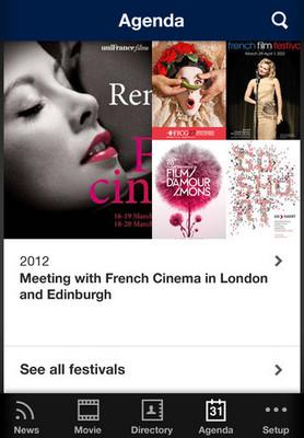 "uniFrance Films presents the ""French Cinema"" app"