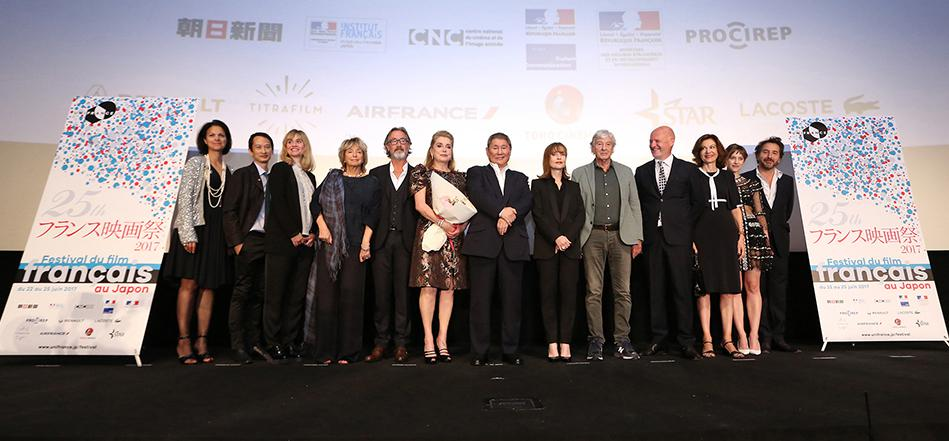 Opening of the 25th French Film Festival in Japan - © Rumi Shirahata