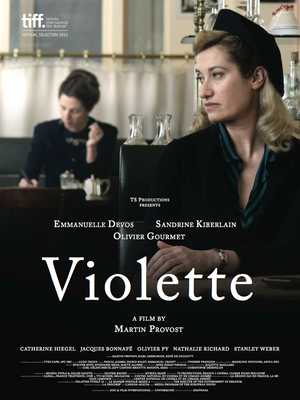 Violette - Affiche anglaise internationale