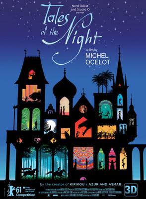 Tales of the Night/夜のとばりの物語 - Poster - Intl.