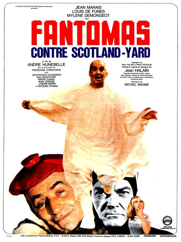 Taxi New York >> Fantômas contre Scotland Yard (1966) - uniFrance Films