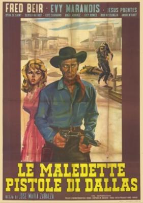 Les Pistolets maudits de Dallas - Italy