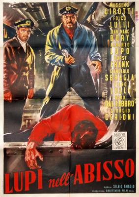 Les Loups dans l'abime - Poster Italie