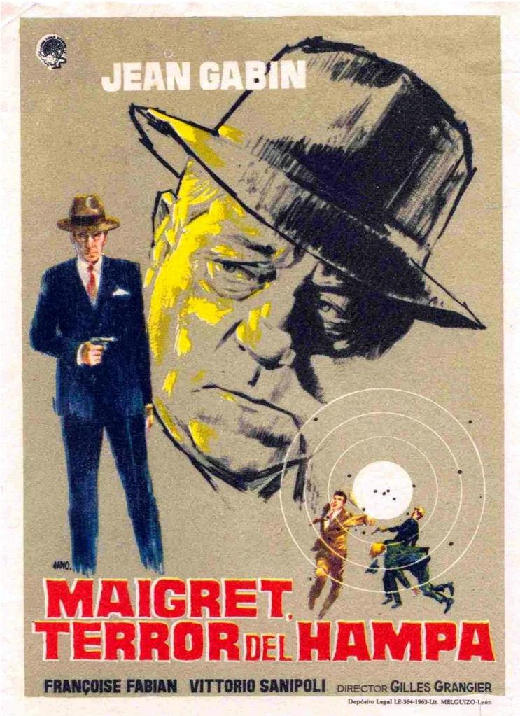 Maigret, terror del hampa - Poster Espagne