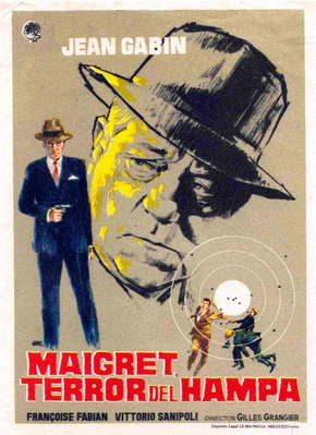 Maigret voit rouge - Poster Espagne