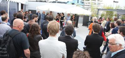 """Journée """"événements court métrage"""" au pavillon UniFrance à Cannes"""