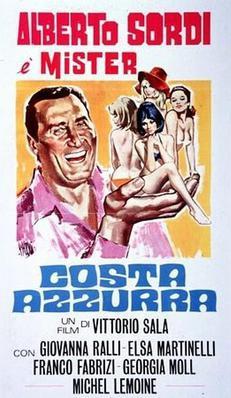 Costa Azzura - Poster Italie