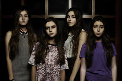 Toronto International Film Festival in pictures - Les quatre jeunes comédiennes de Mustang - © Jean-Baptiste Le Mercier/UniFrance films