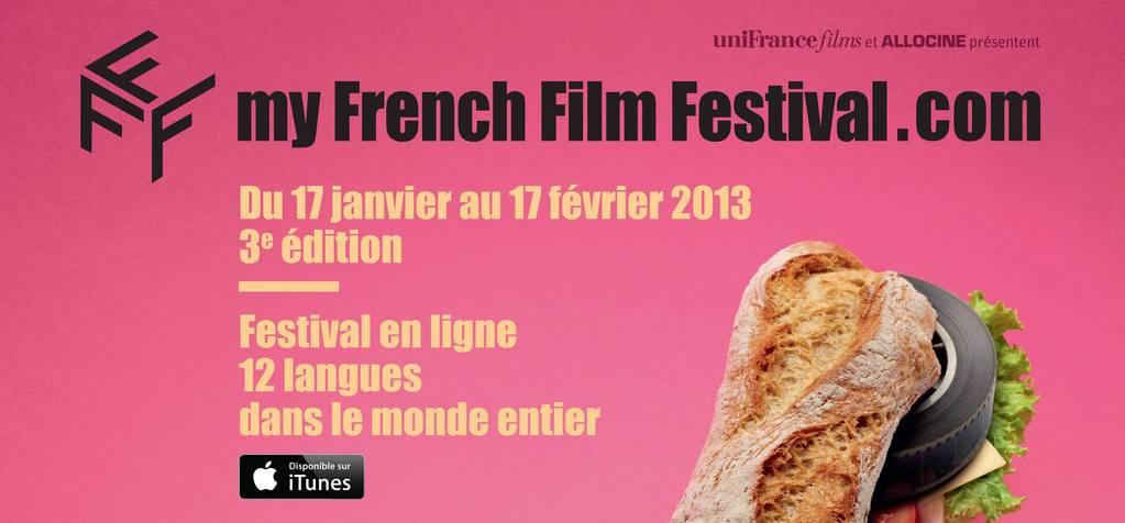 750 000 filmes vistos durante la 3 edición de myfrenchfilmfestival.com