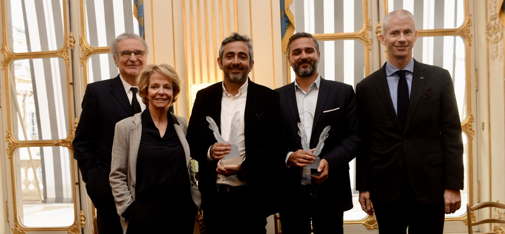 UniFrance presents a French Cinema Award to Eric Toledano and Olivier Nakache