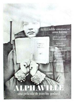 Alphaville - Poster Espagne