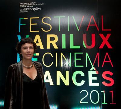 Prestigious delegation at the French Film Festival in Brazil