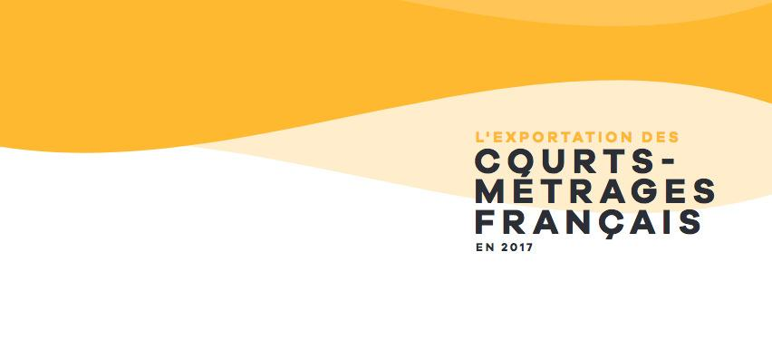 The export of French short films in 2017